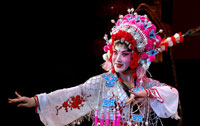 Sichuan Opera performer Cui Guangli