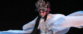 <b>Qinqiang opera singer Li Mei</b><br><br>