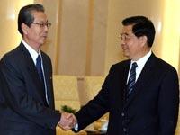 Hu Jintao se reúne con una delegación de la RPDC