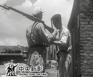 武汉兵工厂的工人组成纠察队