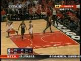2010/2011赛季美国男子篮球职业联赛季后赛 步行者-公牛 第2节