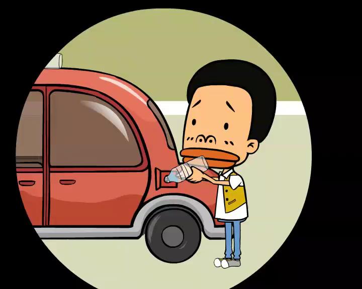 没头脑和不高兴的汽车生活 水当燃料的大乌龙