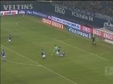 [德甲]第22轮:沙尔克4-0沃尔夫斯堡 比赛集锦