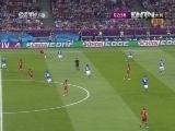 [欧洲杯]决赛 西班牙VS意大利 上半场