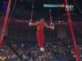 [体操]陈一冰吊环发挥出色 完美下马得高分