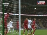 [国际足球]卡希尔球门前抢点头球攻门命中