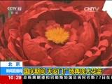 北京:国庆期间 天安门广场再现大花篮