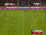 [国际足球]欧预赛附加赛首回合:瑞典VS丹麦 上半场