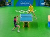 [奥运会]乒乓球男团1/4决赛 瑞典队VS韩国队 1