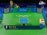 [奥运会]乒乓球男团1/4决赛 瑞典队VS韩国队 2
