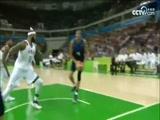 [篮球]奥运会男篮小组赛 美国队VS法国队 集锦