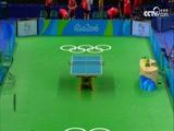 [奥运会]乒乓球男团1/4决赛 奥地利队VS德国队 2