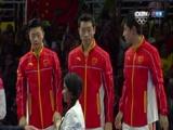 [乒乓球]奥运会乒乓球男子团体 颁奖仪式