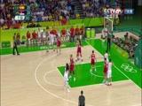 [奥运会]女子篮球半决赛 西班牙队VS塞尔维亚队