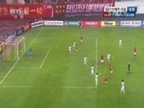 [亚冠]阿兰斜传门前 于汉超跟进头球被扑出