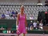 [法网]女单第4轮:斯维托丽娜VS马蒂奇
