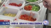 一味一故事 西班牙:只为做出正宗湘菜味道 华人世界 2018.09.29 - 中央电视台 00:02:43