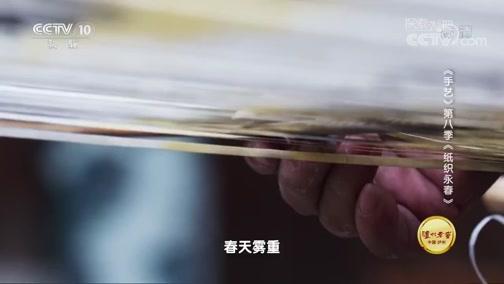 《探索·发现》手艺 第八季 纸织永春 00:36:52