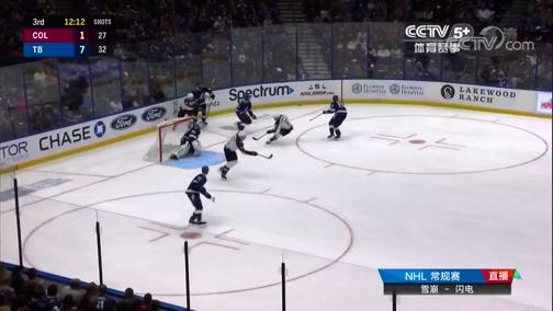 [NHL]常规赛:科罗拉多雪崩VS坦帕湾闪电 第三节