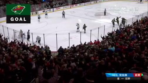 [NHL]常规赛:达拉斯星2-1明尼苏达狂野 比赛集锦