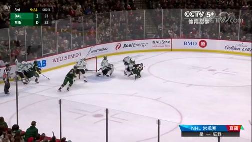 [NHL]常规赛:达拉斯星VS明尼苏达狂野 第三节