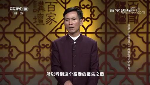 丝路上的古城 2 男耕女织话宝鸡 百家讲坛 2019.01.02 - 中央电视台 00:38:49