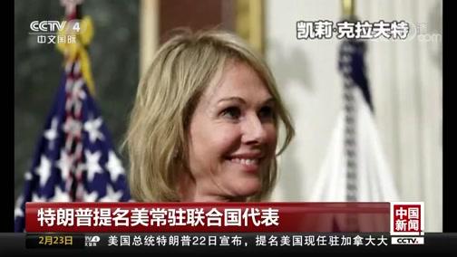[中国新闻]特朗普提名美常驻联合国代表