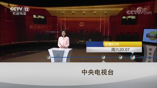 """《庭审现场》 20190323 """"市长弟弟""""行骗记"""
