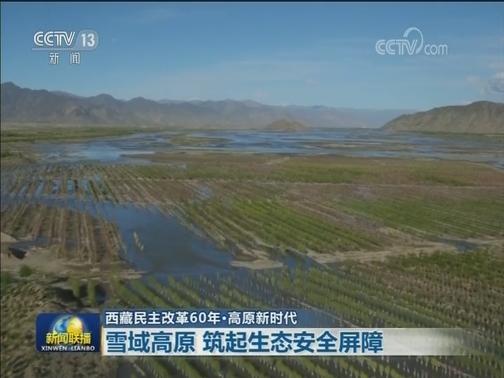 [视频]【西藏民主改革60年·高原新时代】雪域高原 筑起生态安全屏障
