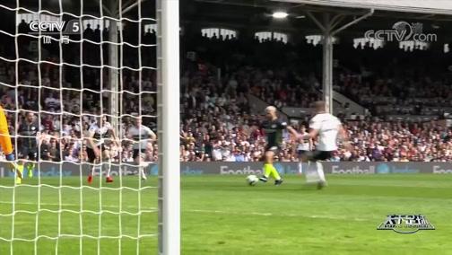 [天下足球]阿圭罗传射 曼城客场击败富勒姆