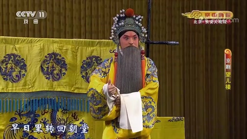 [CCTV空中剧院]京剧《望儿楼》 康静饰窦太真 周亚楠饰李渊