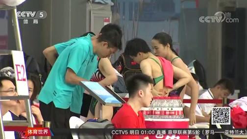 [游泳]施廷懋/王涵女子双人三米板高分夺冠