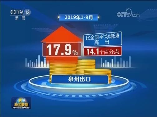 [视频]一线调研:福建泉州 出口逆势增长靠什么?