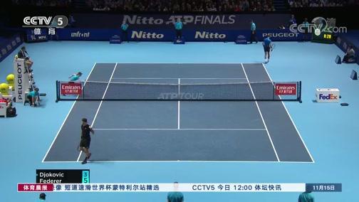 [网球]出线关键战 费德勒击败德约科维奇