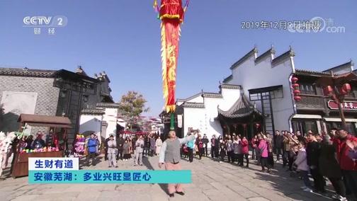 《生财有道》 20200304 安徽芜湖:多业兴旺显匠心