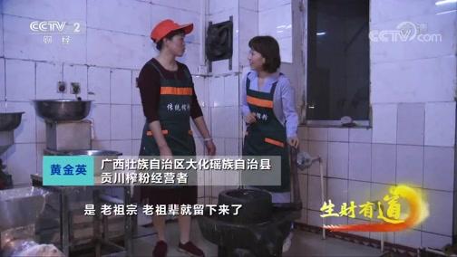 《生财有道》 20200306 广西大化:特色美味带来的财富