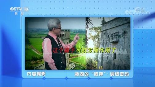 """《地理·中国》 20200514 凝固的""""旋律""""·碉楼密码"""