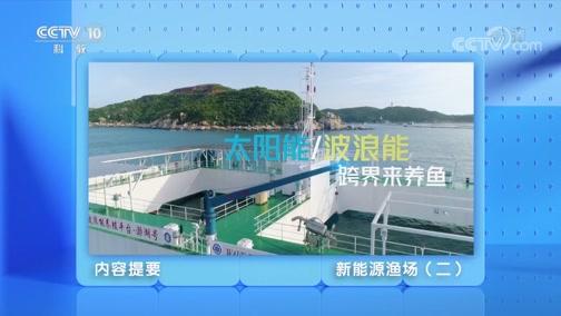 《创新进行时》 20200519 新能源渔场(二)