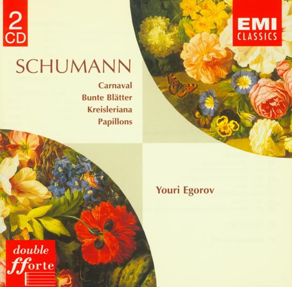 舒曼 狂欢节,彩色叶子,克莱斯勒偶记