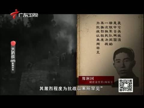 《大抗战》 第六十五集 桂南战役 00:24:43