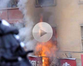 <font color=blue><center><b>[Vidéo]</b></font> Les émeutes de Urumqi, chef-lieu de la région autonome ou&#239;goure du Xinjiang (nord-ouest) au 5 juillet 2009</center><br>
