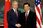 2005<br>Visite du président George W. Bush en Chine