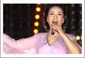 彭丽媛在联欢晚会演唱
