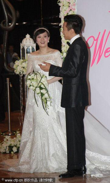 sun li is currently pregnant the event was arranged by