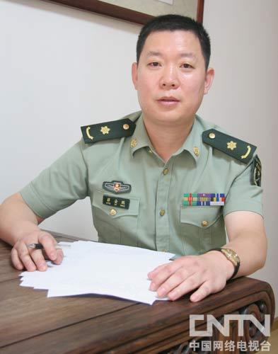 北京军区总医院医疗东区首长保健中心主任蒋金鹏
