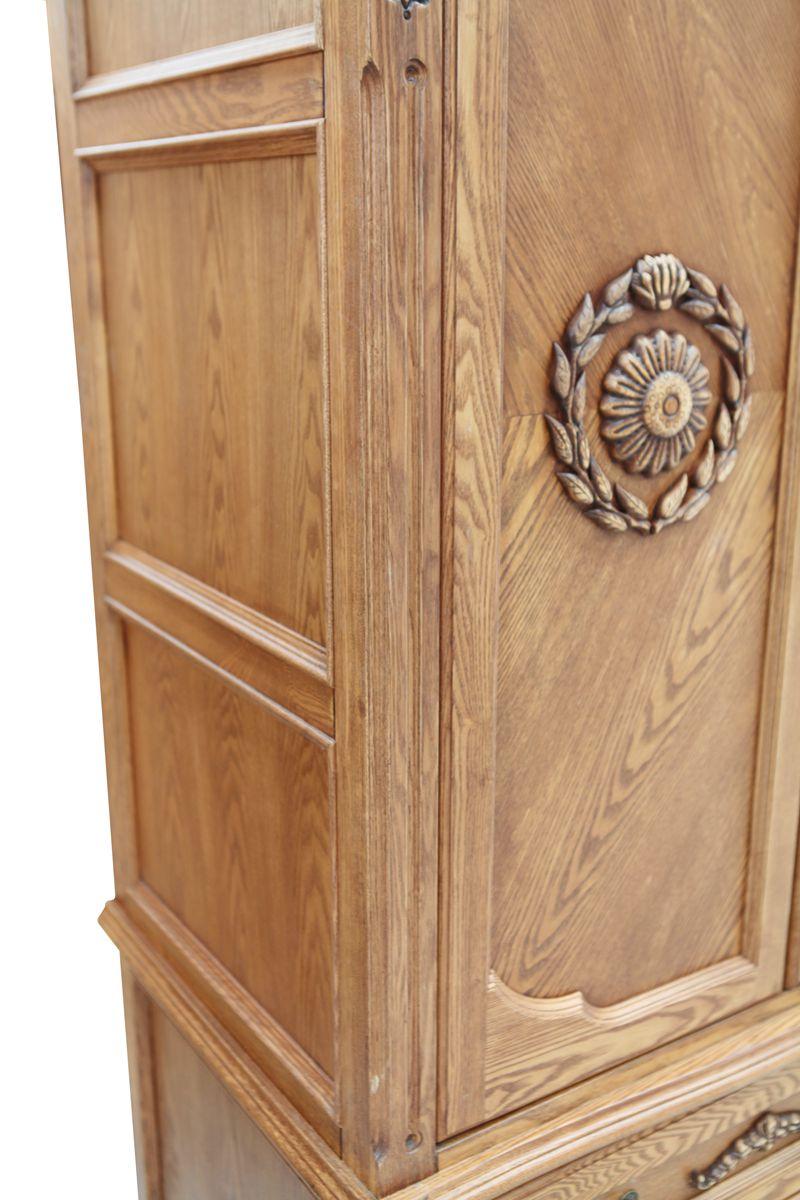 欧式风格家具韩式木衣柜衣橱宜家柜类木拉门绿色环