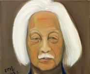 油画--张仃先生