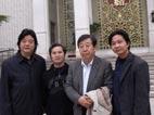 和中国美协主席刘大为在民族文化宫
