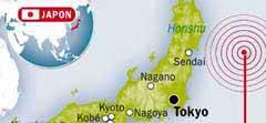 Séisme de magnitude 9,0 au Japon