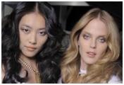 Liu Wen y modelos extranjeros
